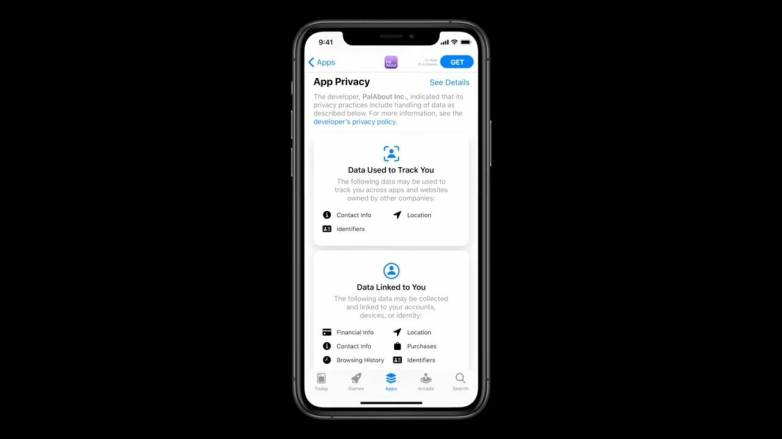 iOS 14 privacy feature