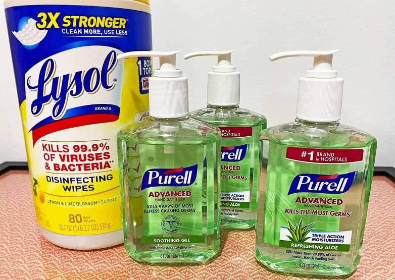 purell hand sanitizer 12 oz pump bottle